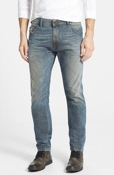 DIESEL® 'Krayver' Slouchy Slim Fit Jeans ...