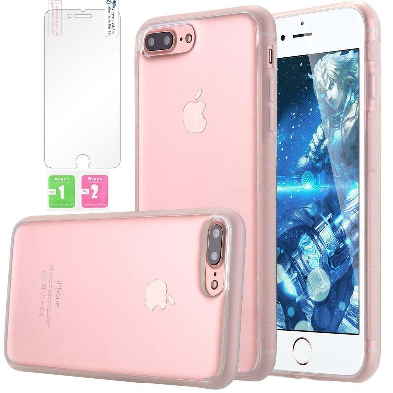 Anti Gravity Nano New Transparent Suction Phone Cover Case For Iphone 7 Plus Ebay Scheduled Via Http Www Tailwindap Iphone Clear Iphone Case Iphone 7 Plus