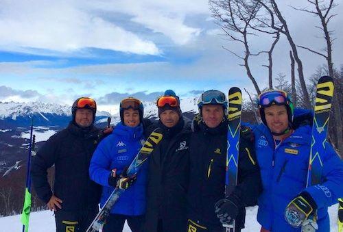 Test atletici per gli slalomgigantisti di Coppa