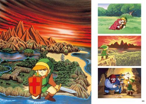 Tem arte desde o Zeldinha de NES