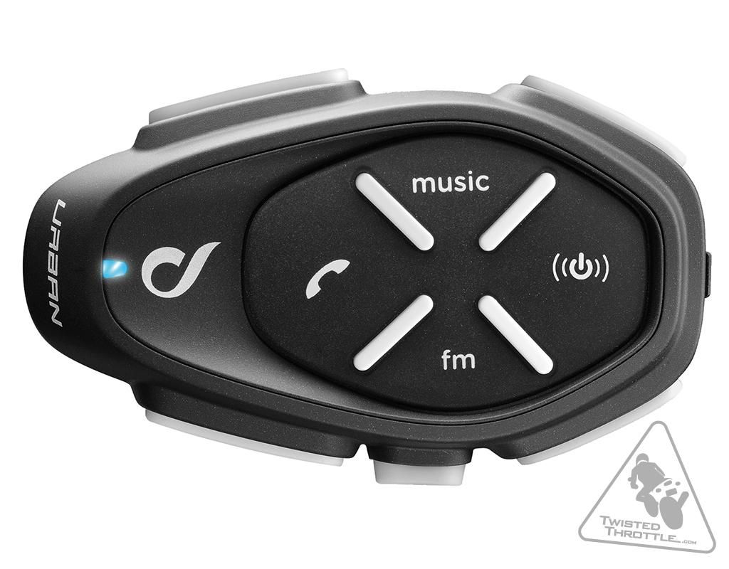 Interphone Urban Bluetooth Motorcycle Communicator