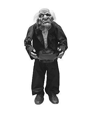 Asda Animated Boris Butler 50 Halloween Toy Leather Jacket