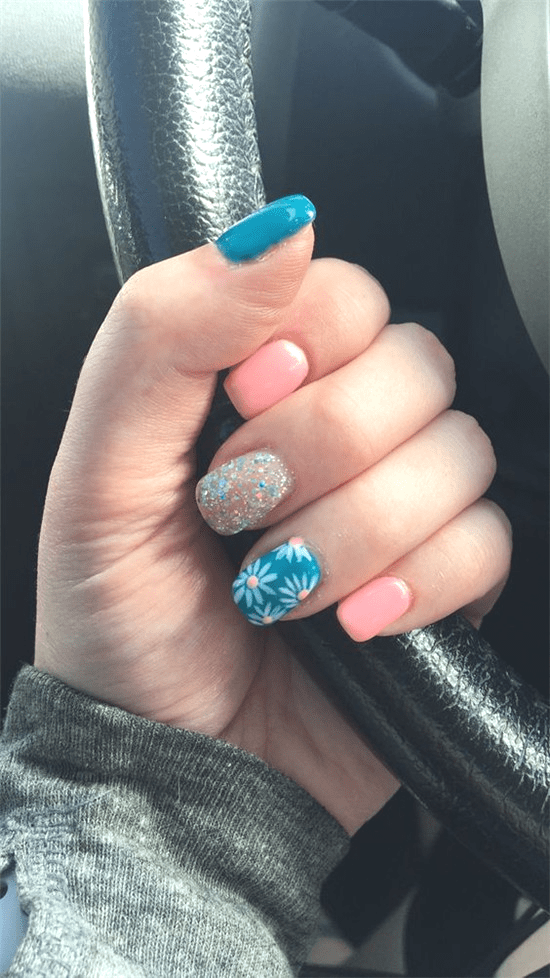 Stunning Acrylic Short Nails Designs You Must Try - Nail Art Connect : Stunning ... - Gel Nails