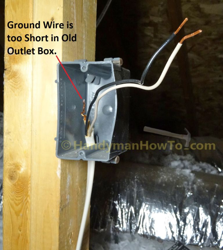 How To Wire An Attic Electrical Outlet And Light Junction Box Wiring Electrical Outlets Junction Boxes Wire
