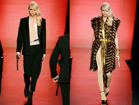 Andrej Pejic for Jean Paul Gaultier F/W 2011