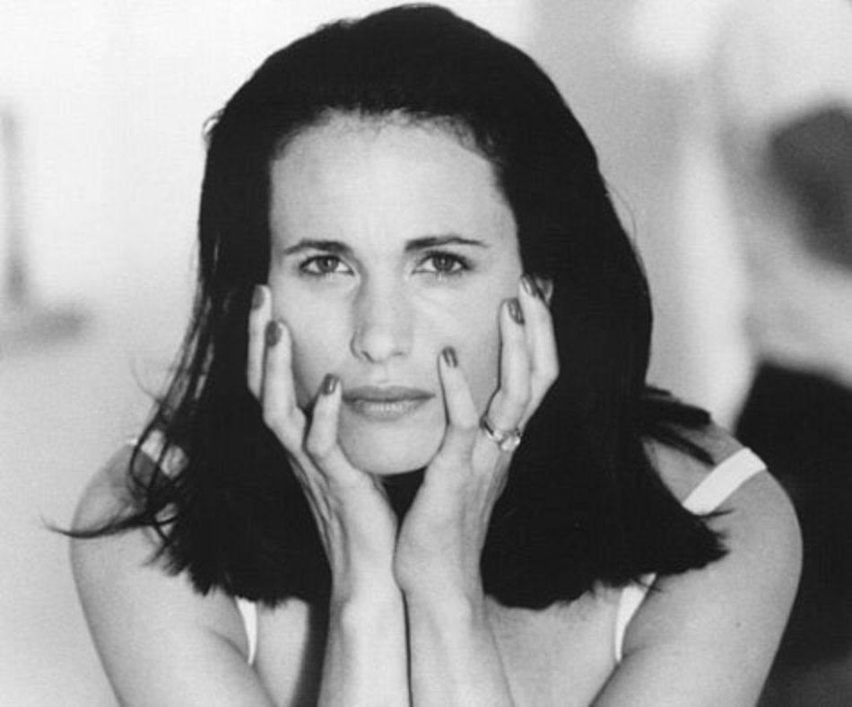 Andie MacDowell (born April 21, 1958)