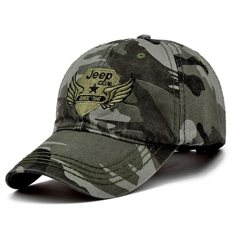 Men and Women Baseball Cap Camouflage Hat Gorras Militares Hombre  Adjustable Snapbacks Caps casquette de marque 2e03e94afbb