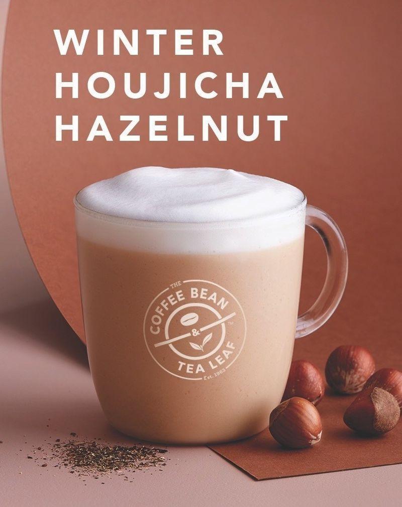 Wintry Hazelnut Beverages The Coffee Bean Tea Leaf S Drinks Integrate Rose Houjicha Flavors Trendhunter Com Hazelnut Beverage Tea Leaves Hazelnut