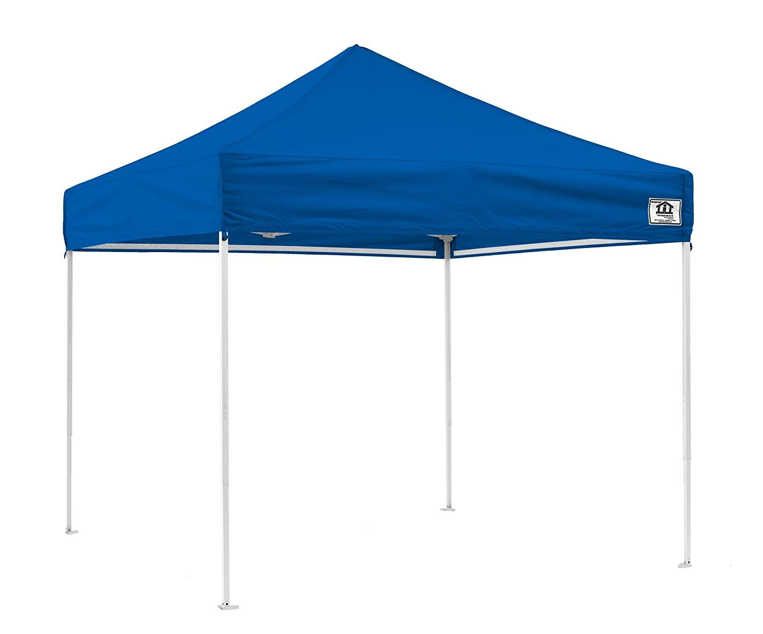 Impact Canopy 10 X 10 Pop Up Canopy Tent Straight Leg Shelter Steel Frame Uv Coated Roller Bag Royal Blue Walmart Com In 2020 Canopy Tent Outdoor Canopy Tent Gazebo