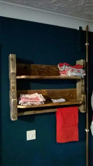 Teatowel rack