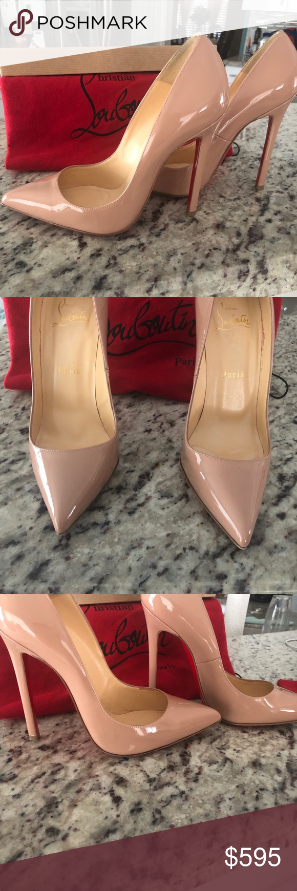 Christian Louboutin Pigalle Patent Heels Patent Heels Christian Louboutin Pigalle Christian Louboutin