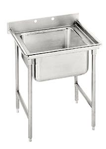 Advance Tabco 9-41-24 Super Saver One Compartment Pot Sink - 33 inch