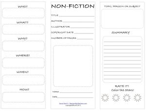 Fiction VS. Nonfiction Teaching Ideas | Common core standards ...