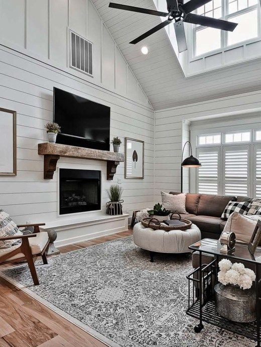 37 Most beautiful examples of using shiplap in the home #craftsmanstylehomes