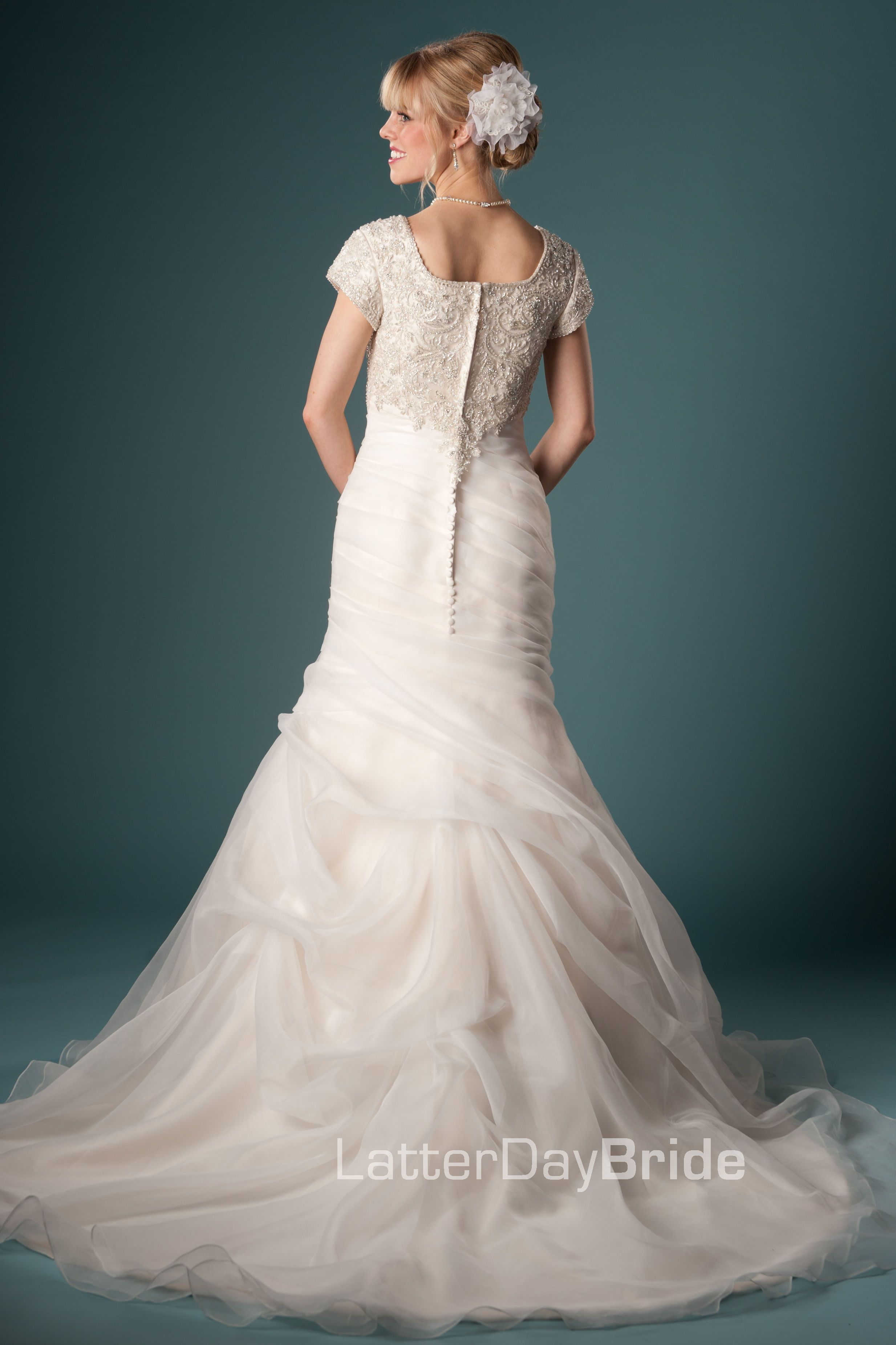 Wedding dresses spokane  Modest Wedding Dresses  Fabiana  For Time and All Eternity