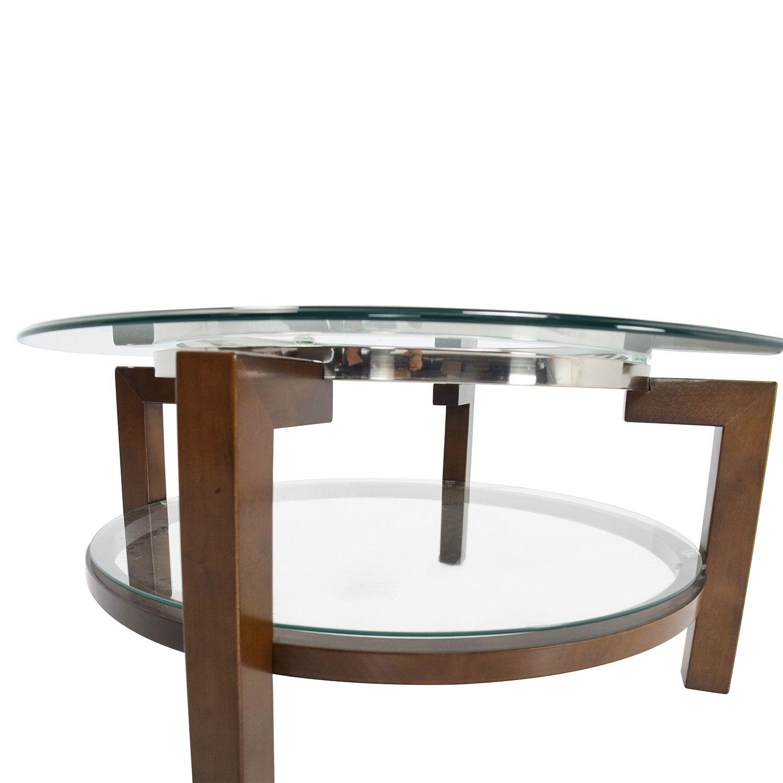 Bon MacyS Glass Top Coffee Tables