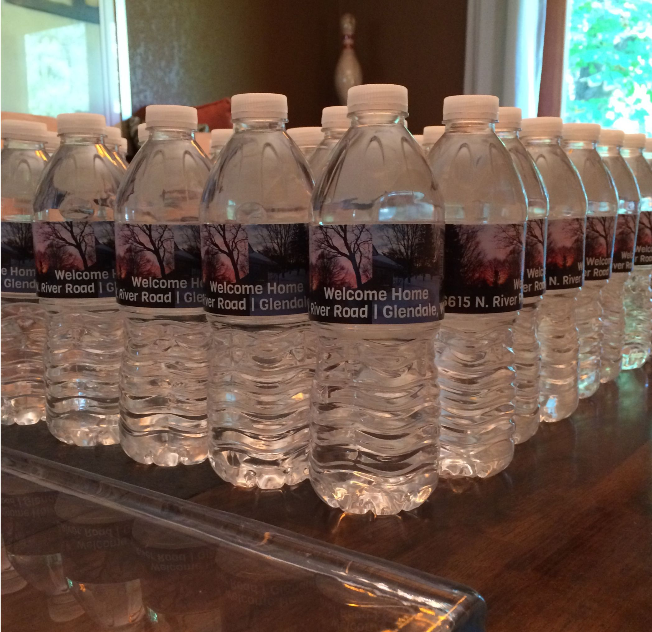Custom Water Bottle Labels From Byb