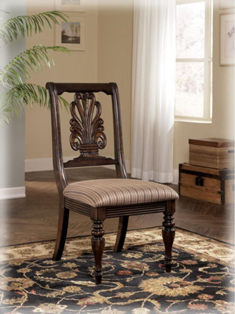 D66801 By Ashley Furniture In Winnipeg Mb Dining Uph Side Chair