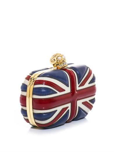 Unquestionably iconic, this Britannia clutch from ...