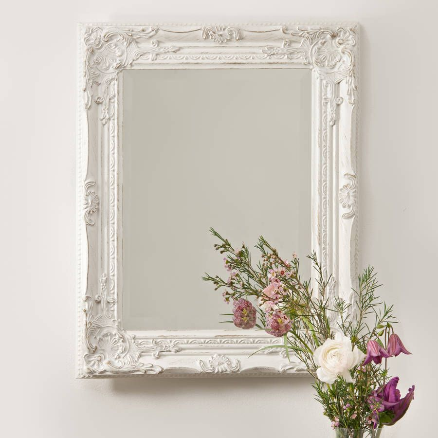 Beautifull Distressed Vintage Style Wall Mirror Mirror Wall Framed Mirror Wall Vintage Mirror Wall [ 900 x 900 Pixel ]