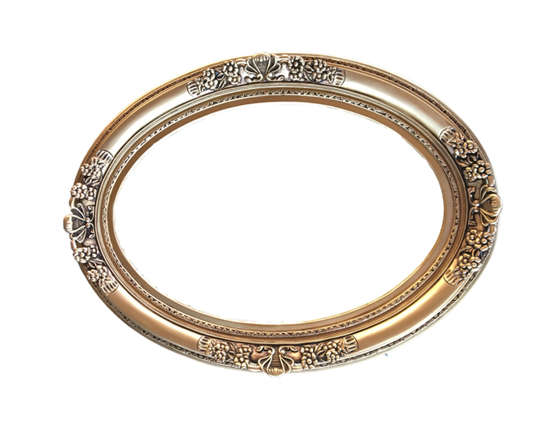 Shabby Chic Oval Frame, Baroque Frame, Ornate Wall Frames, Wedding ...