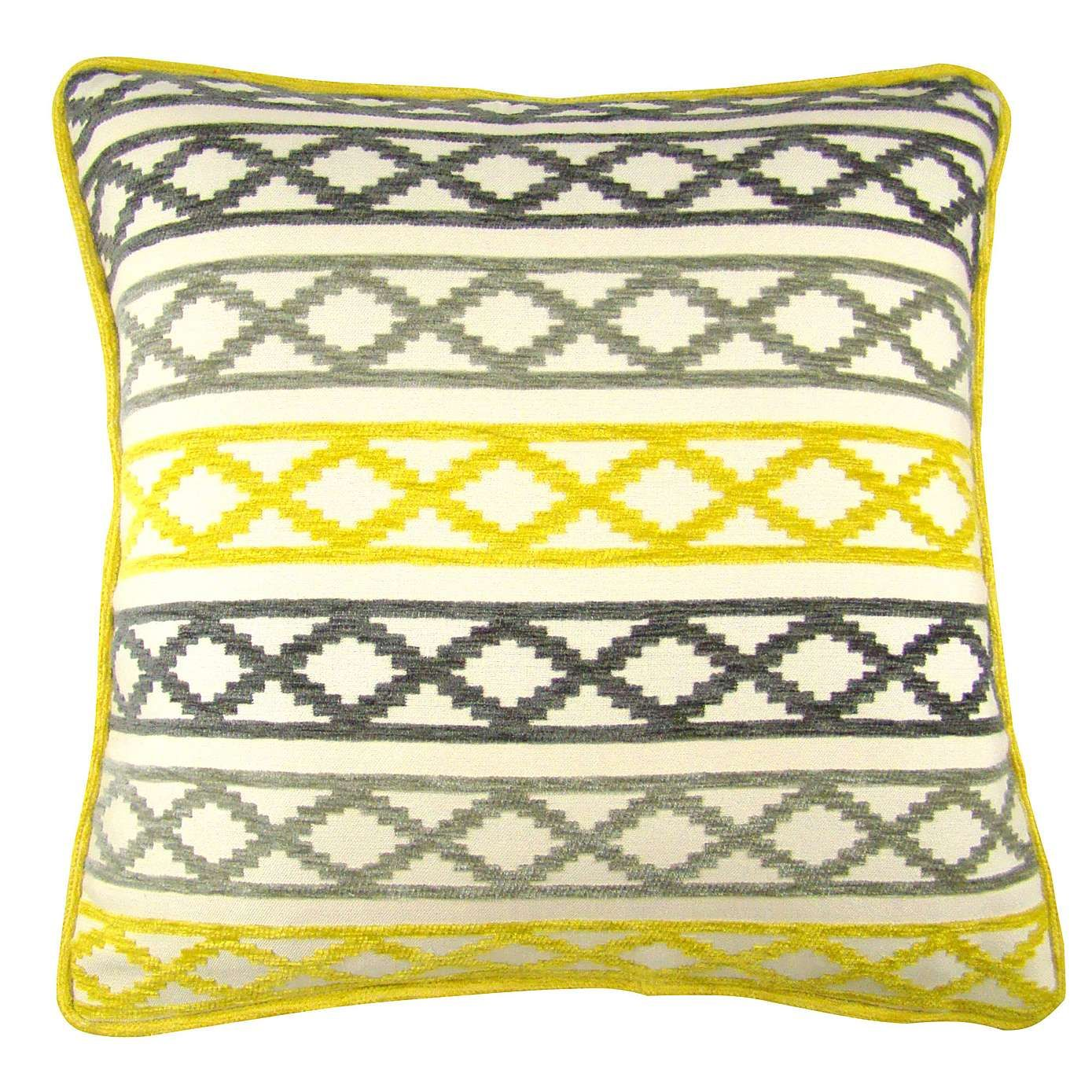 Maddox Ochre Cushion Cover Dunelm For the Home