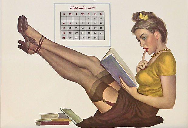 Pin-Up Girl September, 1949