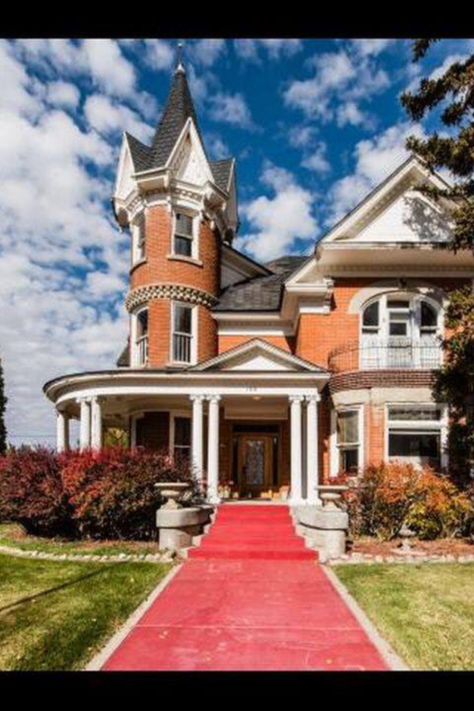 1905 Soren Hanson Castle In Hyrum Utah Historic Homes For Sale Historic Homes Mansions