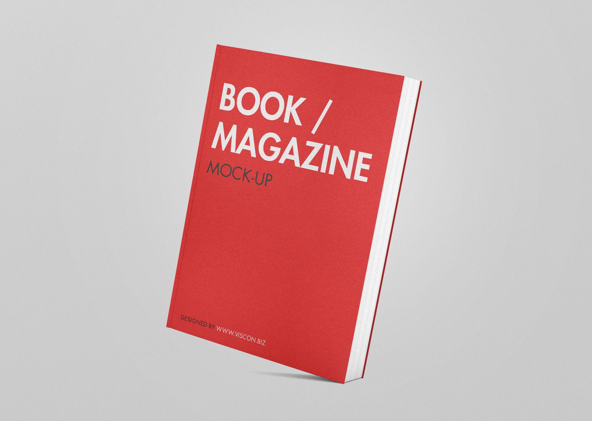 2729+ Book Jacket Mockup Psd Free PSD File