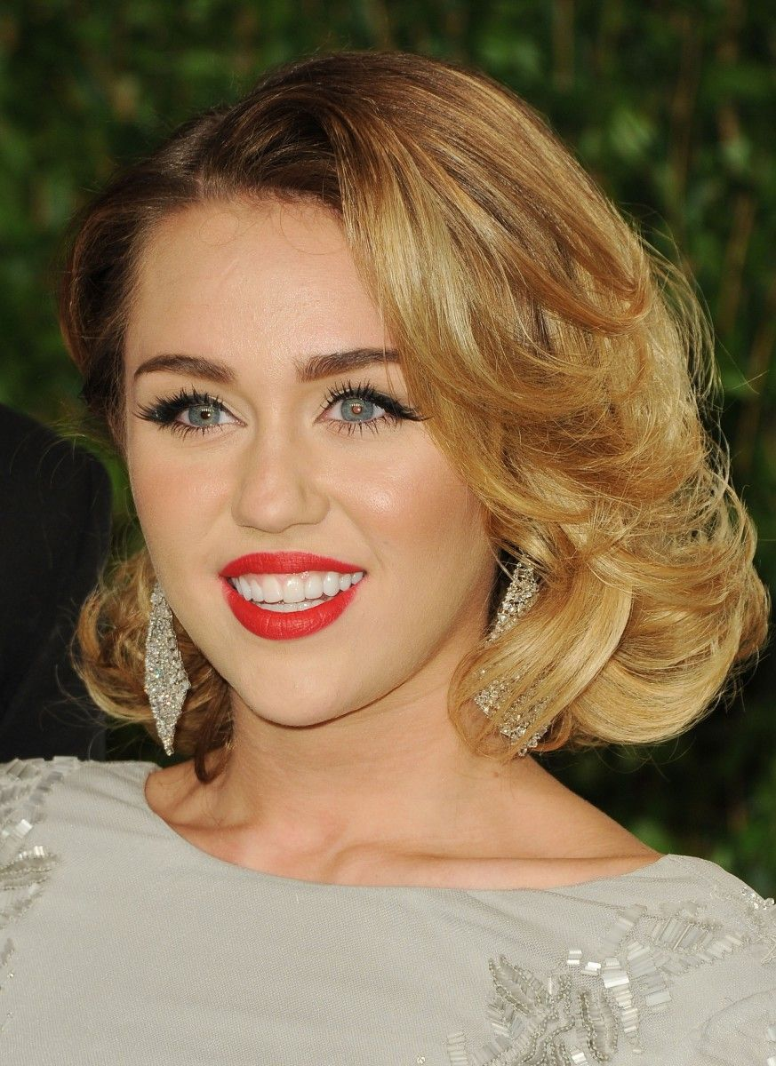Miley cyrus before and after hair pinterest hair hair makeup