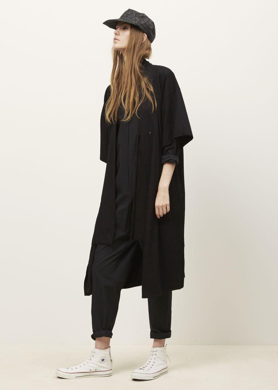 Shaina Mote Robe Dress Ink