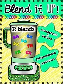 All of these activities provide practice with the r blends, br, cr, dr, fr, gr, pr and tr. � Build It, Color It, Trace It � Cut and paste r blend pictures � Color pictures that have r blend � Word Search � Roll and graph r blend words � Spin and write r b