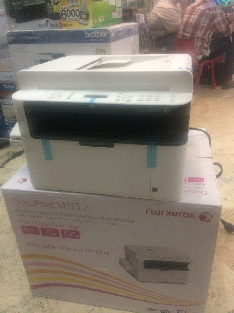 Printer Fuji Xerox M115z Printer Pencetakan Monochrome