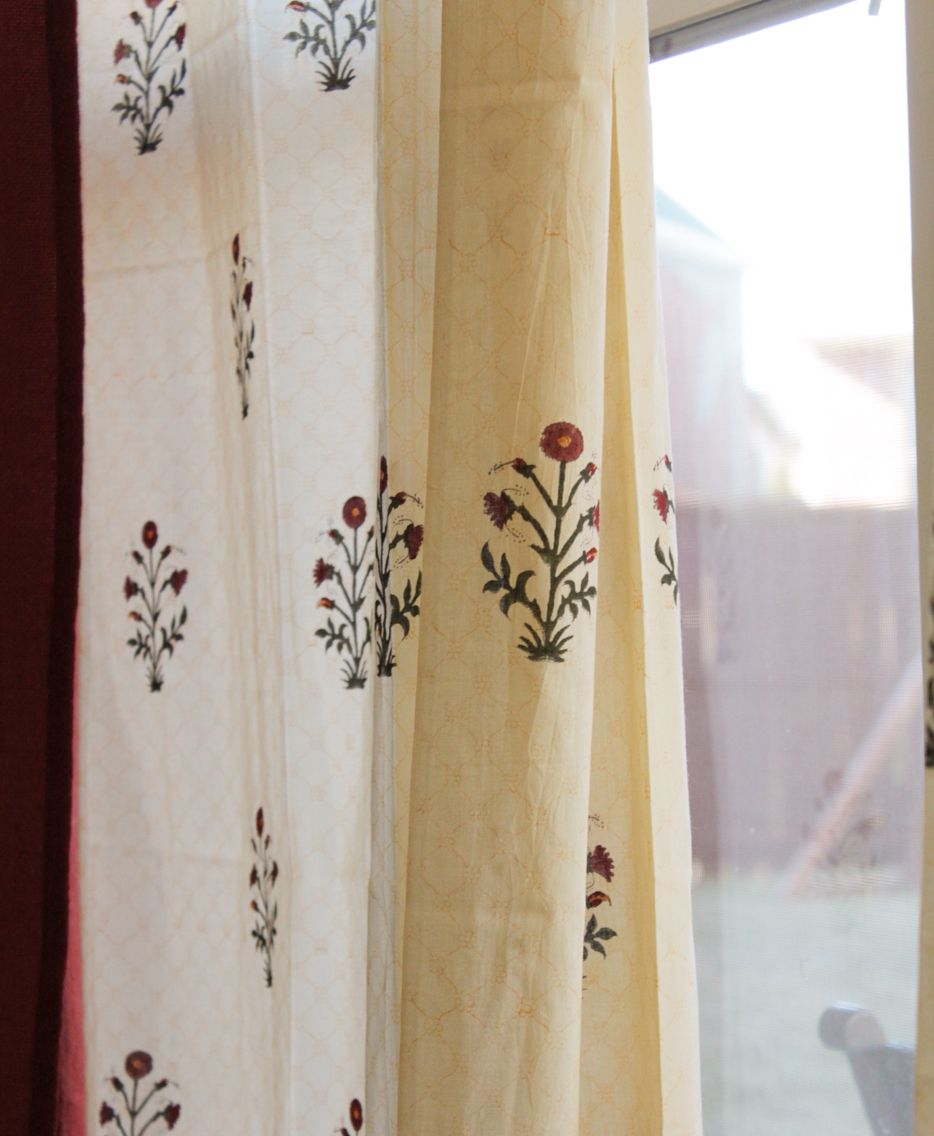 Block Print Curtains Block Print Wallpaper Block Printed Pillows Printed Curtains