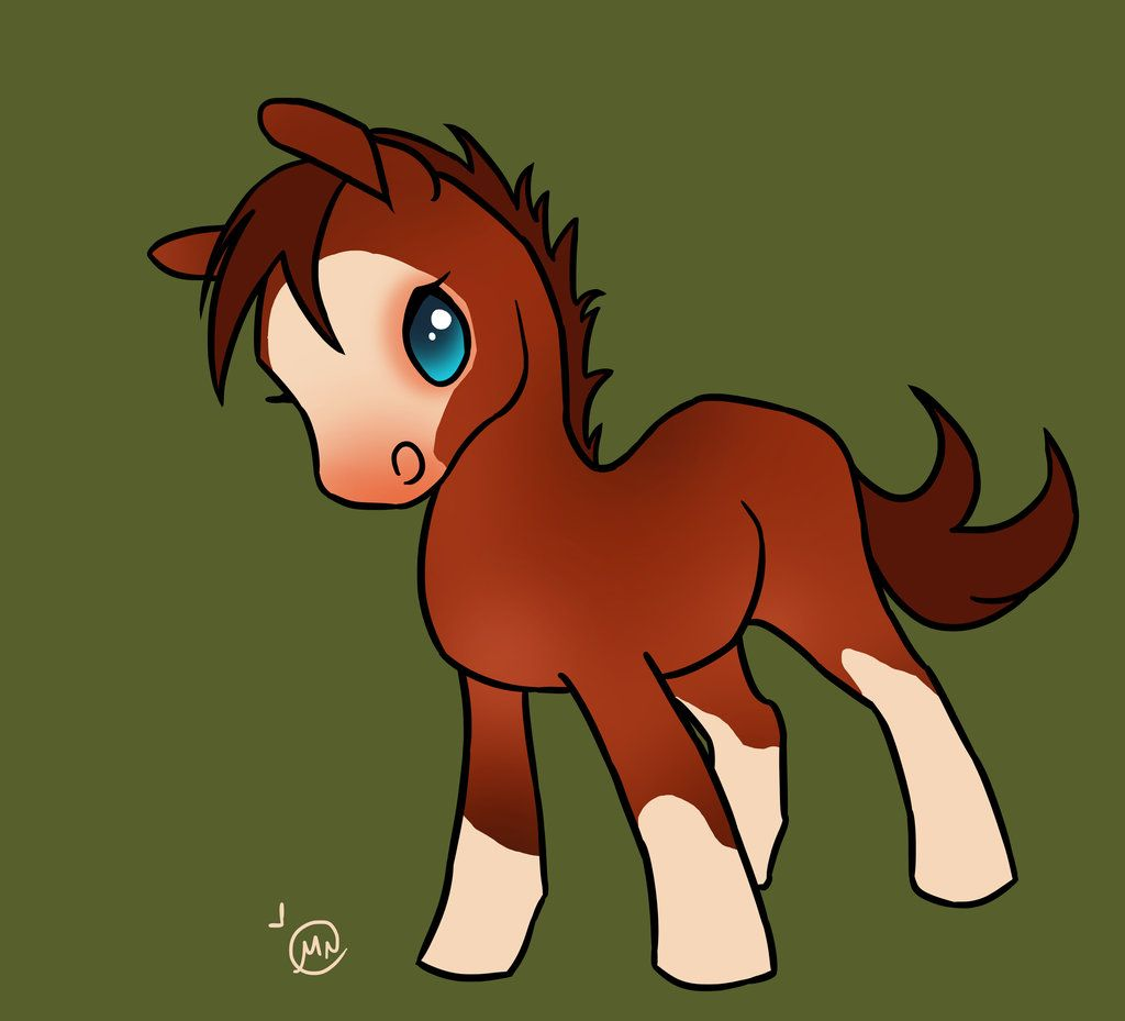 How To Draw A Kawaii Horse
