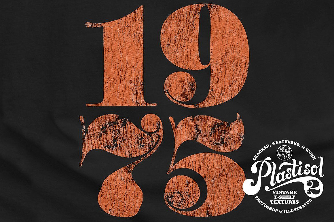 Plastisol 1 2 T Shirt Texture Bundle Vintage Tshirts Screen Printing Designs Graphic Design Software