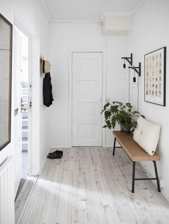1001 photos inspirantes d 39 int rieur minimaliste bois banquette entr e scandinave et. Black Bedroom Furniture Sets. Home Design Ideas