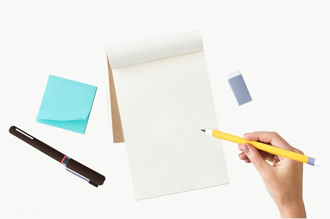 Hand Writing On A Notebook Transparent Png Premium Image By Rawpixel Com Awirwreckkwrar Note Doodles Doodle Designs Pen Sets