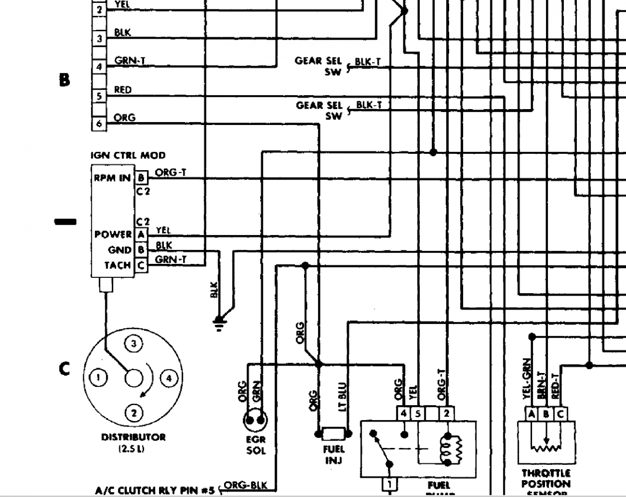 Jeep 8 8 Engine Diagram Chart Di