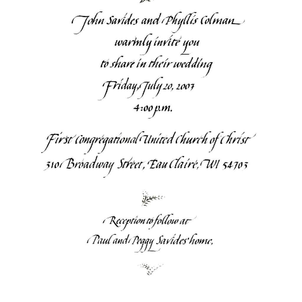 nice Create Easy Formal Wedding Invitation Wording Free Check more ...