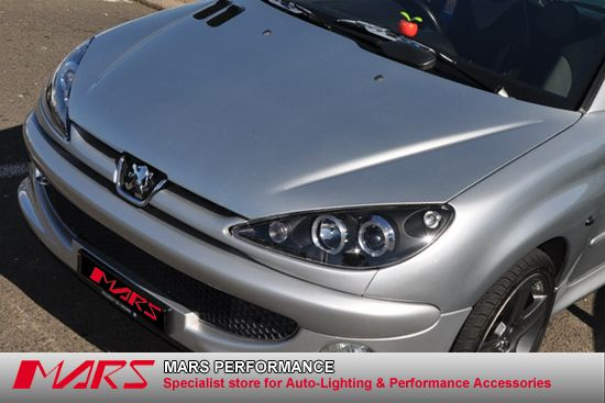 Angel Eyes Lights Peugeot 206 Mars Performance Products