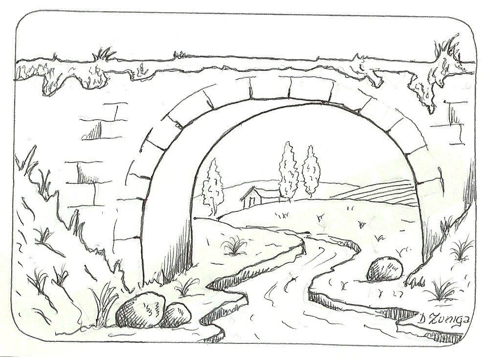 paisajes para dibujar a lapiz - Buscar con Google | dibujos ...