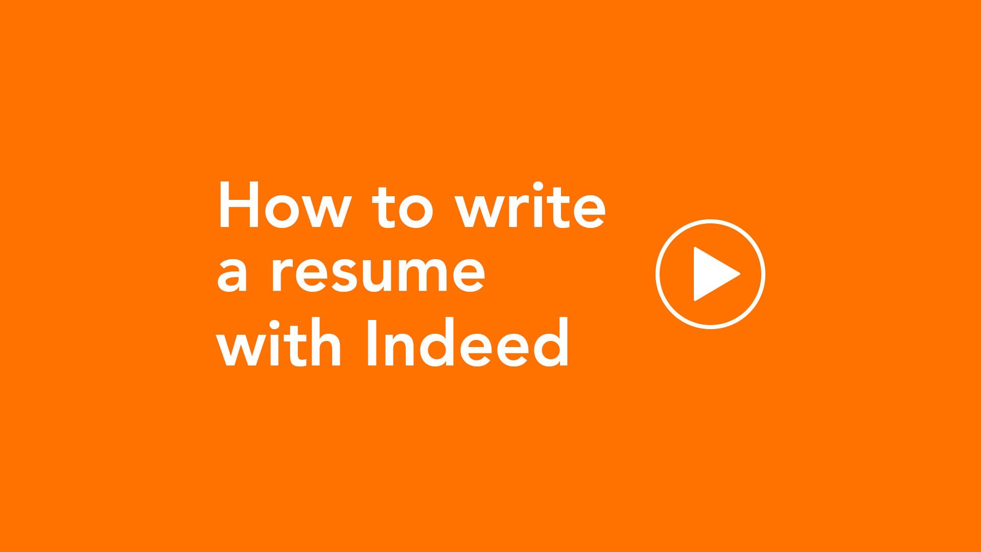 6 Universal Rules For Resume Writing Indeed Com Resume Writing Resume Writing Tips Cover Letter For Resume