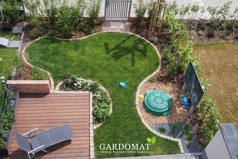 Kleiner Garten: Die Gartengestaltung eines kleinen Reihenhausgartens ist oft schwerer als gedacht, da viele Nutzungsansprüche integriert werden müssen. #kleinegärten