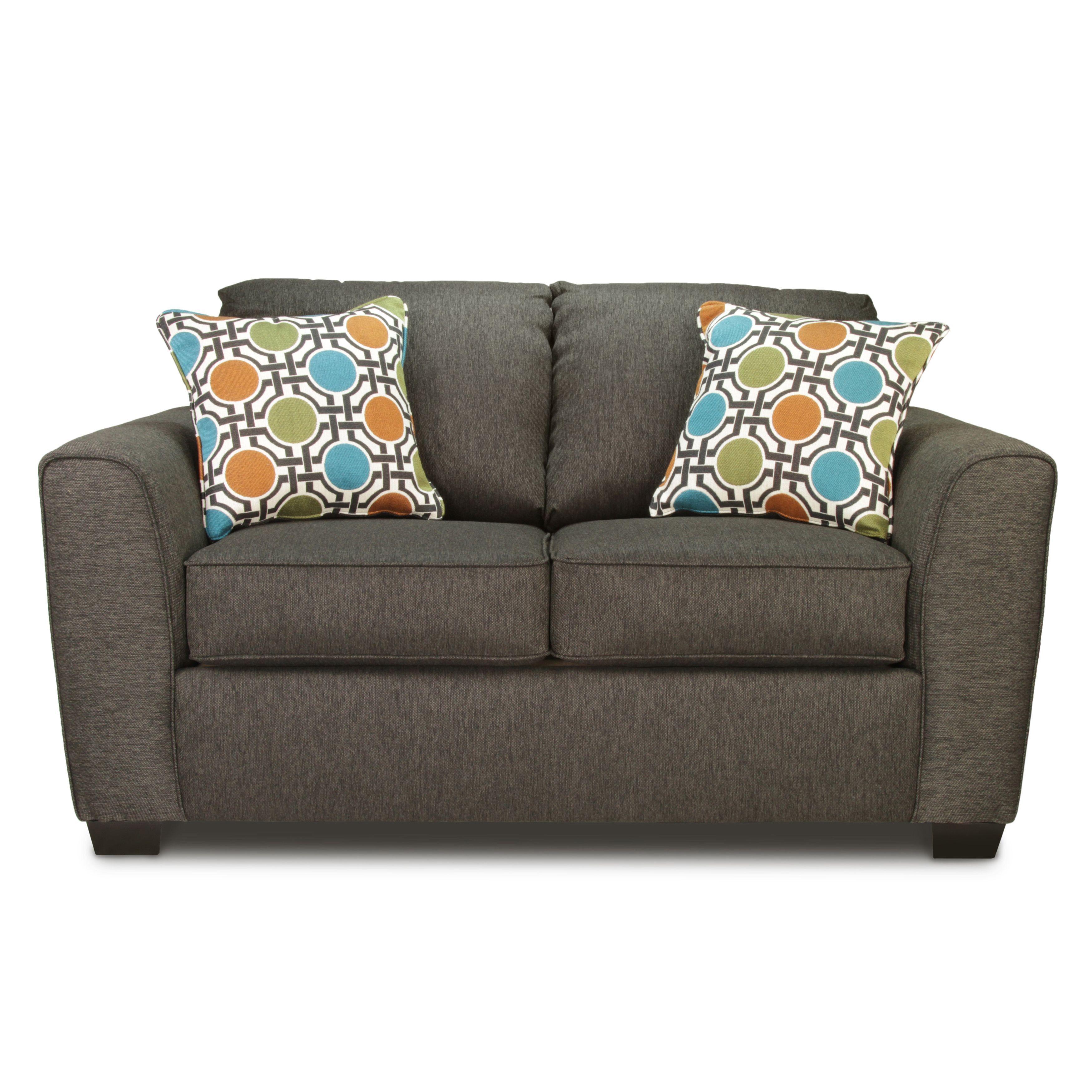 Cool Furniture Of America Playan Charcoal Upholstered Loveseat Gamerscity Chair Design For Home Gamerscityorg