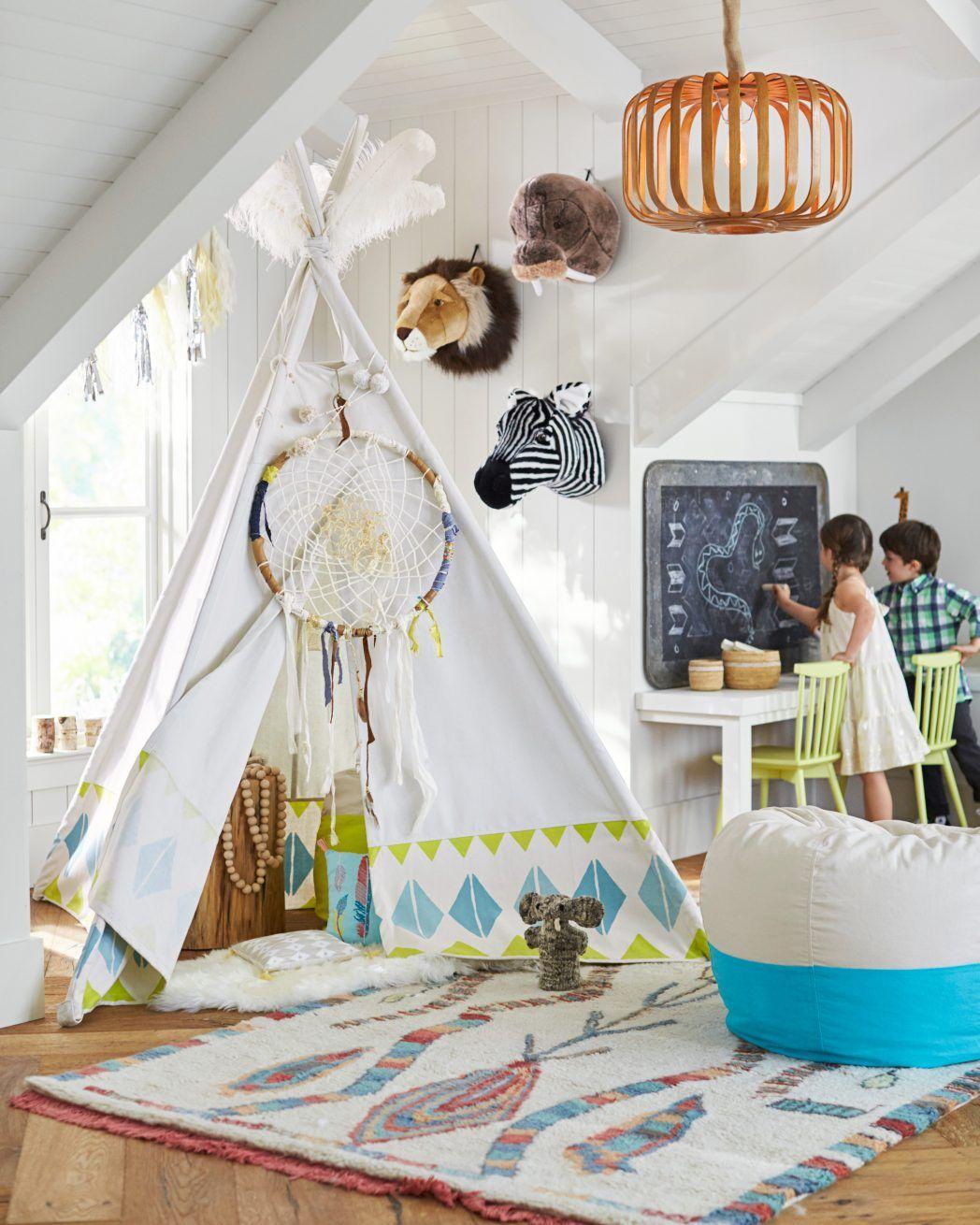 Jk Tee Pee Room Potterybarn Kids Beds Cool Collaboration Jenni Kayne