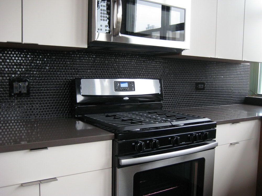 Black Glass Tiles For Kitchen Backsplashes Home Design Ideas Related Searches Pictures Backsplash