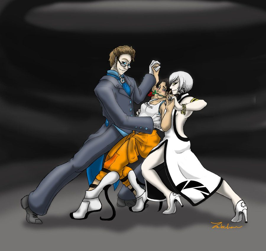 GLaDOS and Chell by AGflower on DeviantArt