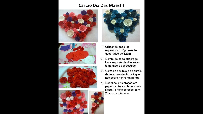 Cartão dia das Mães. Ideia do site: http://vilaclub.vilamulher.com.br/blog/artesanato/cartao-de-rosas-de-papel-para-o-dia-das-maes-passo-a-passo-9-7092368-4274-pfi-dricapeccini.html
