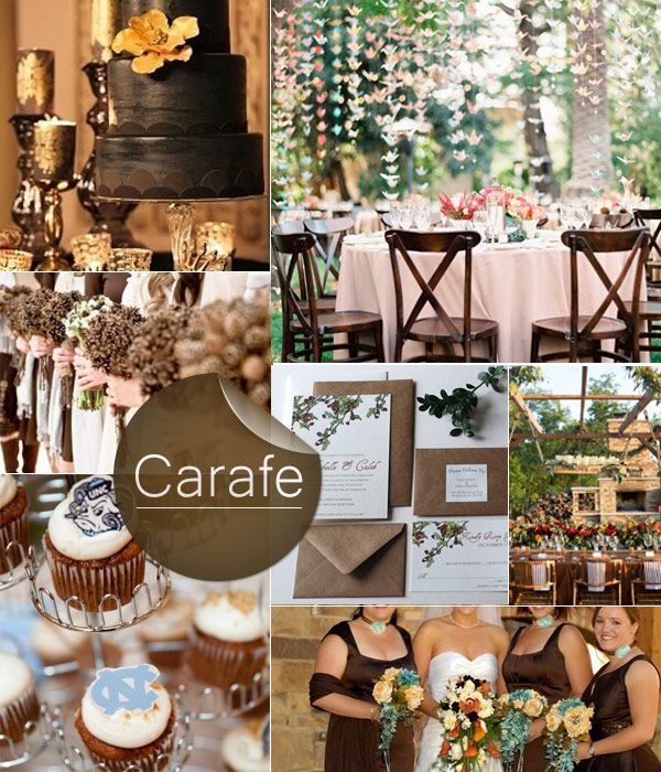 Fabulous Fall Wedding Color Palette 2013 Trends Weddings Wedding